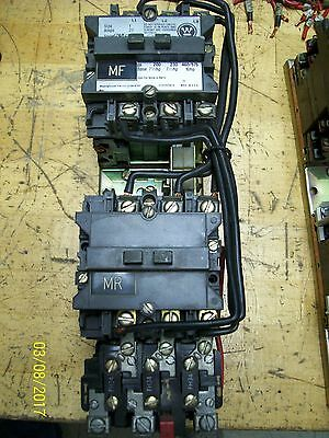 A210Mijac Westinghouse Reversing Contactor 27A 27 Amp Size 1