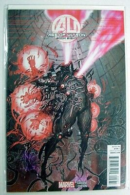 AGE OF ULTRON Book # 8 Comic ~ VARIANT Rock-He Kim COVER ~ VF/UNREAD Marvel