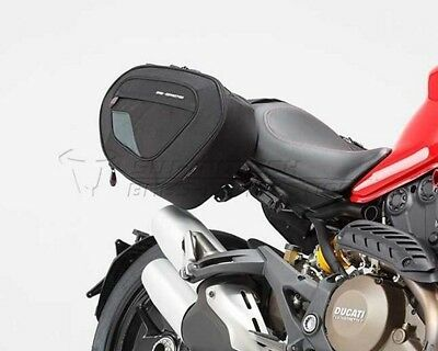 Saddlebag Set H Blaze. Ducati Monster 1200 / S (14).