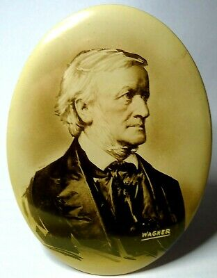 GREAT Vintage Celluloid Richard WAGNER Display Item! Pin