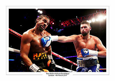 Tony Bellew Vs David Haye A4 Print Photo Boxing 4Th March 2017 O2 Arena London 2
