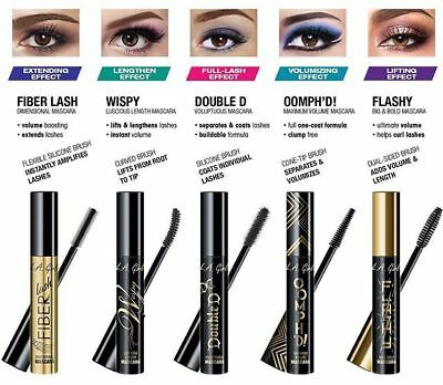 576a3809089 L.A. GIRL NEW Mascara Collection Black 5 Styles for Choice FIBER LASH WISPY