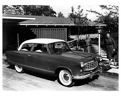 1955 Rambler Club Sedan ORIGINAL Factory Photo oub0198