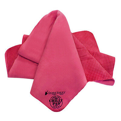 Frogg Toggs Chilly Pad Sports Cooling Towel CP100 - Pink Color - CP100-11