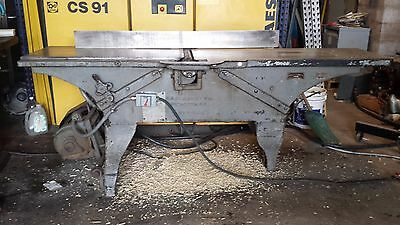 "F.H. Clement American 16"" jointer. ""3 toed"" 3hp 3 phase. Will Palletize and Ship"