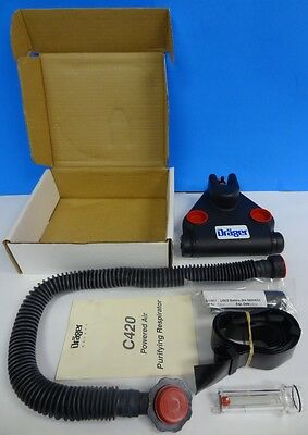 Drager Safety C420 Powered Air-Purifying Respirator W/Hose Heavy Duty WaterProof
