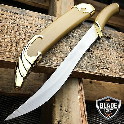 LOTR Lord of the Rings Fighting Knife of Legolas Elven Sword Dagger + Scabbard