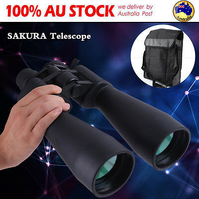 70mm Tube 20x-180x100 Zoom Night Vision HD Binoculars Outdoor Camping Telescope