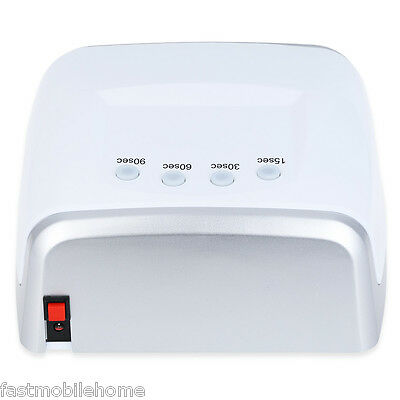 60W UV/LED Dual Purpose High Power Manicure LED Phototherapy Nail Gel Lamp NEW