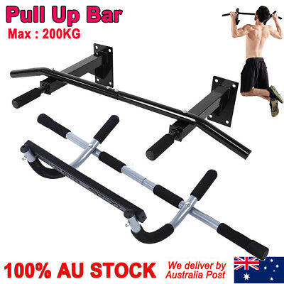 3Style Portable Bar Door Pull Up Doorway Gym Exercise Workout Fitness Trainer AF