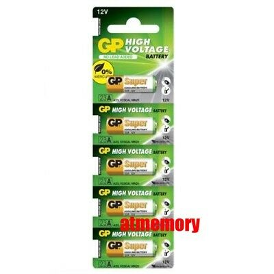 5x GP 23A A23 MN21 23GA 23AE 12V Super Car Garage Single Use Alkaline Battery