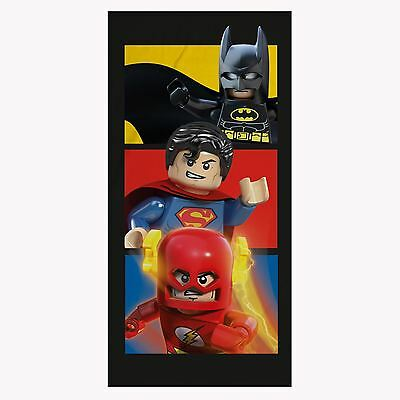 Lego Dc Comics Groß Handtuch Batman Superman Flash Superhelden