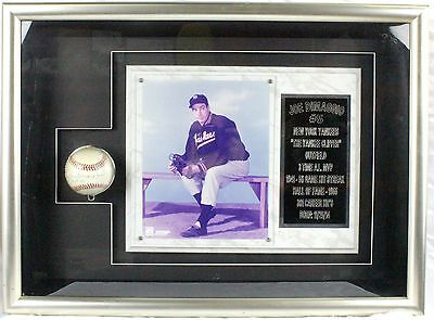 Joe DiMaggio New York Yankees #5 Photo And Signed Baseball Lithograph Memorabili