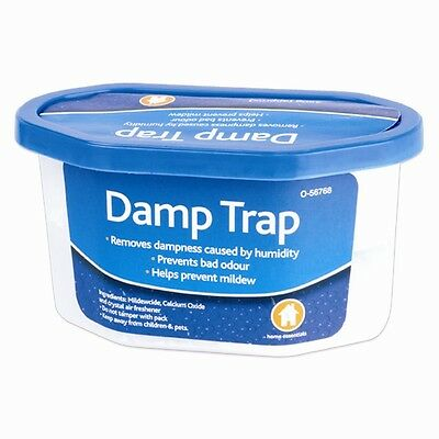 Damp Trap Dehumidifier Humidity Moisture Mould Mildew Odour Dampness Remover NEW