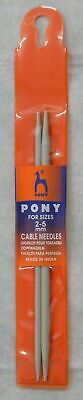 Pony Cable Needle, Small (60208) 2 Per Pack