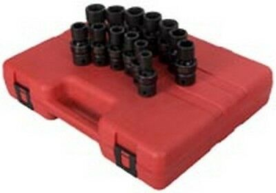 "Sunex 13pc 1/2"" Drive Metric Universal Impact Socket Set 2665"