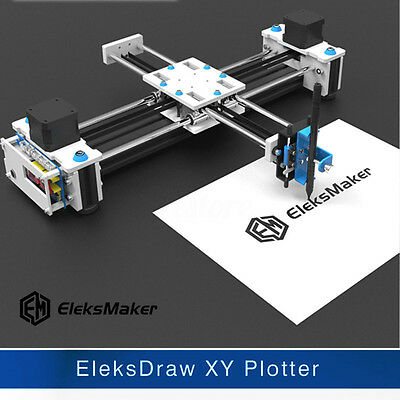 EleksMaker Mini XY 2 Axis CNC Pen Plotter EleksDraw DIY Laser Drawing Machine