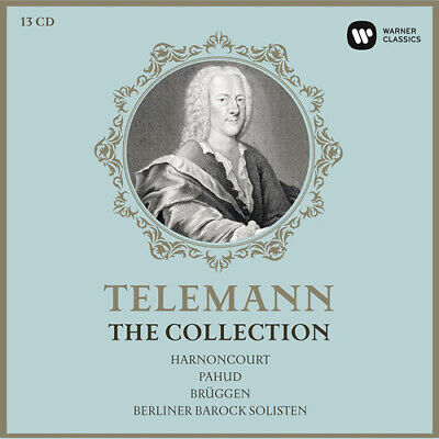 Georg Philipp Telemann : Telemann: The Collection CD Box Set 13 discs (2017)