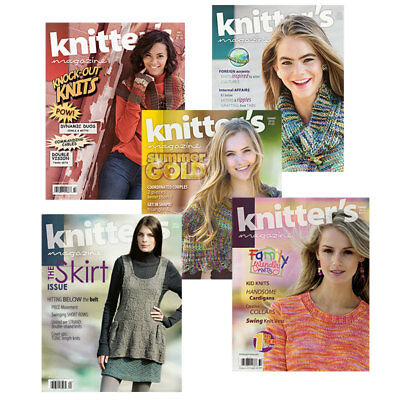 Knitters Magazine - Complete Year Collections
