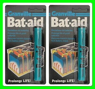 * Pack of 2 *  Granville Bat Aid Battery Tablets [498200] Extends Life