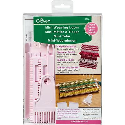 Clover Double Mini Weaving Loom  051221731778