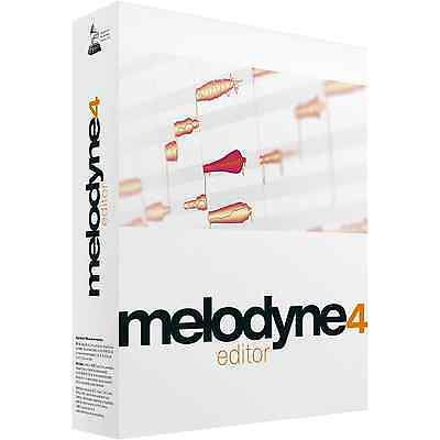 Celemony Melodyne 4 Editor Upgrade/Melodyne Assistant (Serial Download)