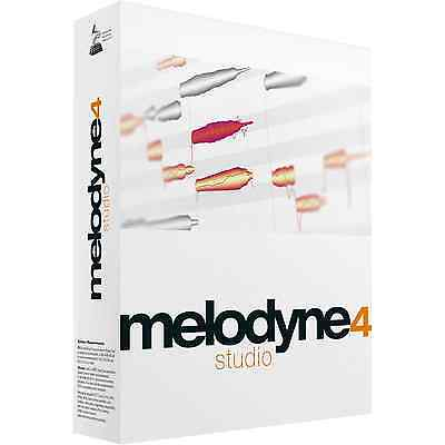 Celemony Melodyne 4 Studio Upgrade/Melodyne Editor (Serial Download)
