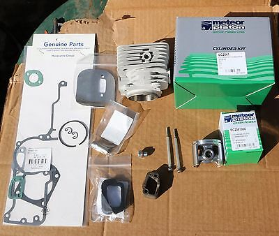 Husqvarna cylinder kit  266 61 52 mm chainsaw meteor quality made in Italy