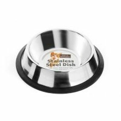Fed 'N' Watered Stainless Steel Non Tip Cat Dish  15cm C35747D
