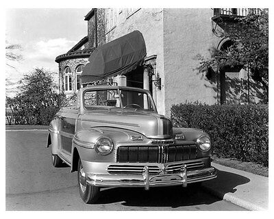 1946 1947 Mercury Sportsman Convertible ORIGINAL Factory Photo oub0275