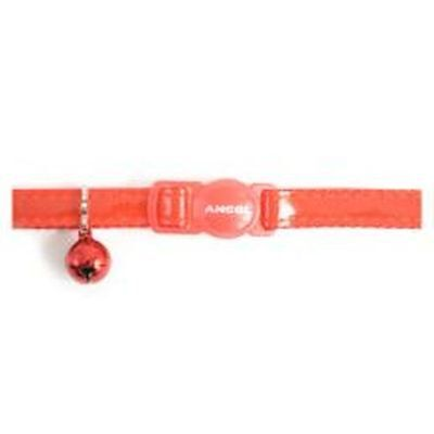 Ancol Cat Collar Gloss Reflective Red sgl 670820