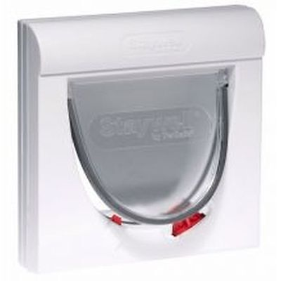 Staywell 932 Magnetic Cat Flap white 932EF