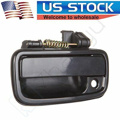 ECCPP Door Handle for 95-04 Toyota Tacoma Black Exterior Front Left Driver Side