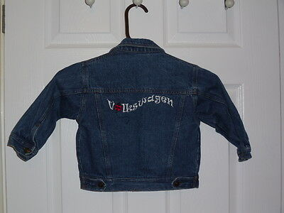 Denim Volkswagen Jacket 12-18 Months European Size 80