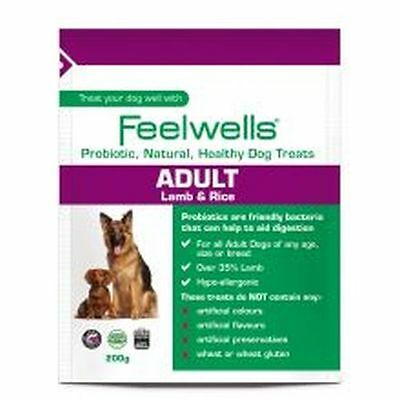 Feelwells Probiotic Adult Dog Treats 200g TR/ADLT/200