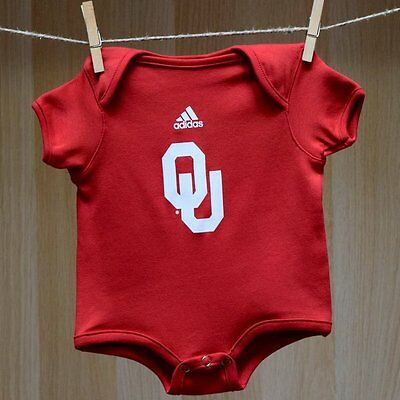 Oklahoma Sooners Baby Infant Onesie Creeper Bodysuit (FREE SHIPPING) 6-9 months