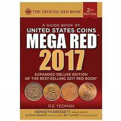 2017 MEGA Red Book Of US Coins, Deluxe 2nd Ed. NEW!!!