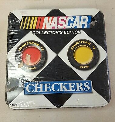 Nascar Checkers Collectors Edition New Sealed