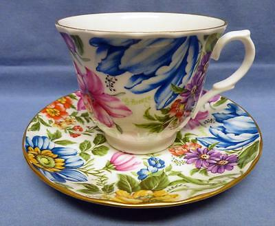 Crown Trent Signed G.breeze China Limited England Cup&saucer Fine Bone China