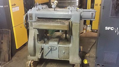 "Yates American B-4 24"" Planer. 7.5 hp 3 phase. Will Palletize and Ship"