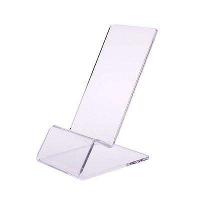 1/5/10Pcs Clear Acrylic Mount Holder Display Stand for Mobile Cell Phone Lot