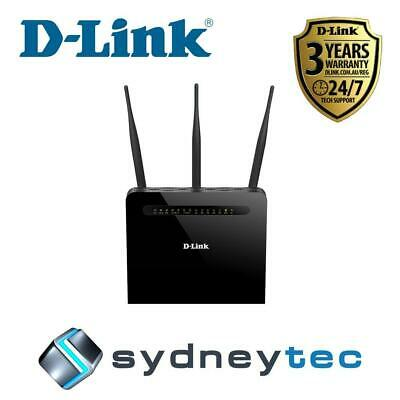 New D-Link DVA-2800 Dual Band Wireless AC1600 ADSL2+/VDSL2 Modem Router with VoI