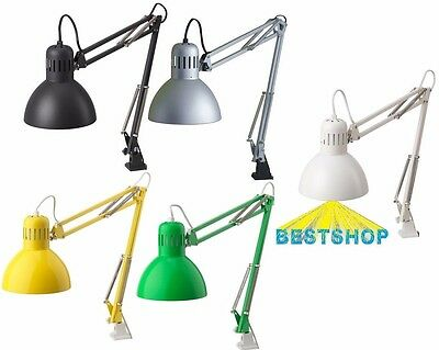 New Ikea Tertial Table Work Lamp,desk Lamp Arm And Head Are Adjustable