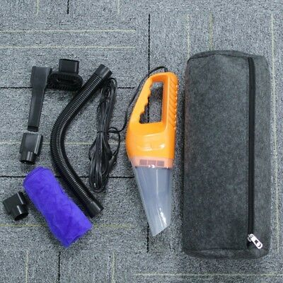 Portable Car Vacuum Cleaner 120W 12V Super Powerful Suction Wet Dry Dual-use