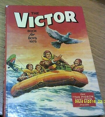 The Victor Book For Boys 1975 Look
