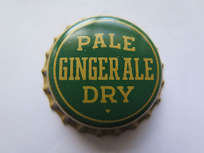 Crown Seal Bottle Cap Pale Dry Ginger Ale Tiny Triangle Under Dry
