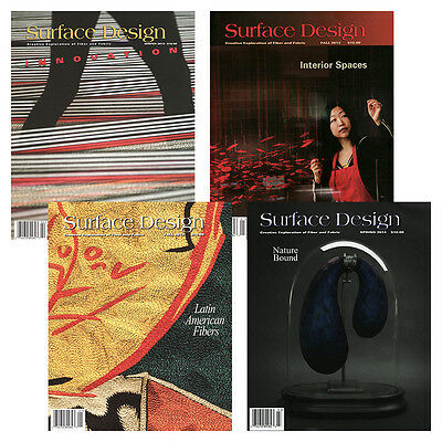 Surface Design Magazine - Complete Year Collections