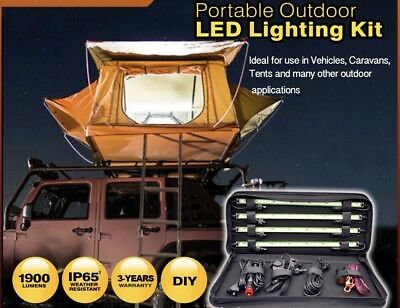 LED BRIGHT Dimmable Camping Led lighting kit - IP65