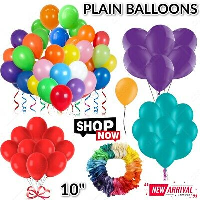 30 X Large PLAIN BALOONS BALLONS helium BALLOONS Quality Party Birthday annivers