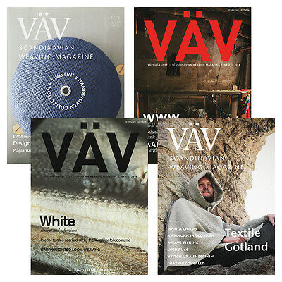 Vavmagasinet - Vav Magazine - Complete Year Collections